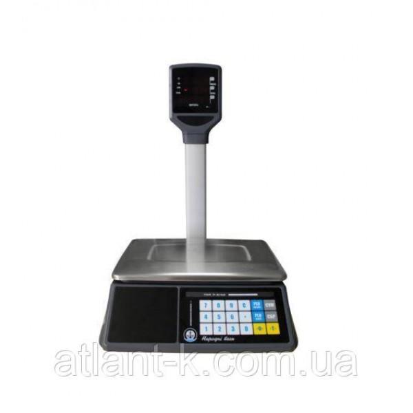 Весы торговые со стойкой  VAGAR VP-06/15LED, RS - 232