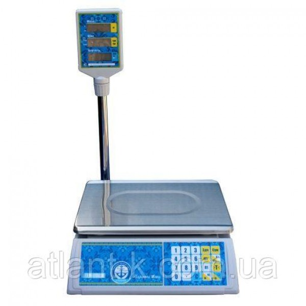 Весы торговые со стойкой VP-L 15 LCD/LED, Вагар, Украина